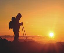 Pilgerreisen zwischen Seelenruhe und Großevent